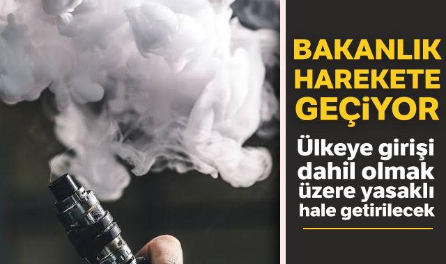 Koca: Elektronik sigara yasaklı hale gelecek