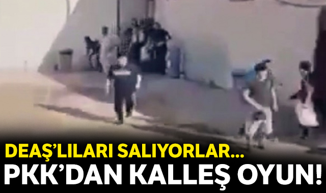 PKK'dan DEAŞ oyunu!
