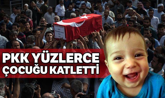 PKK'lı teröristler 35 yılı aşkın sürede yüzlerce çocuğu katletti