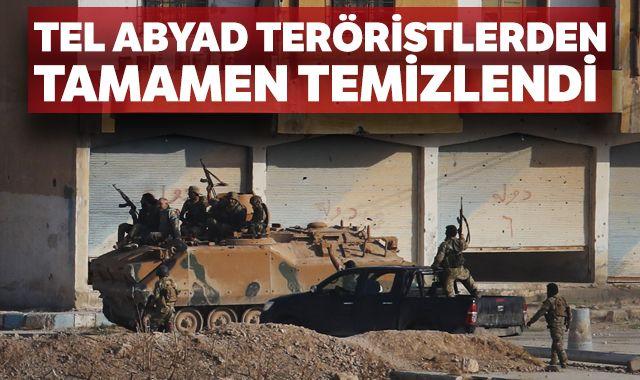 Tel Abyad terörden temizlendi