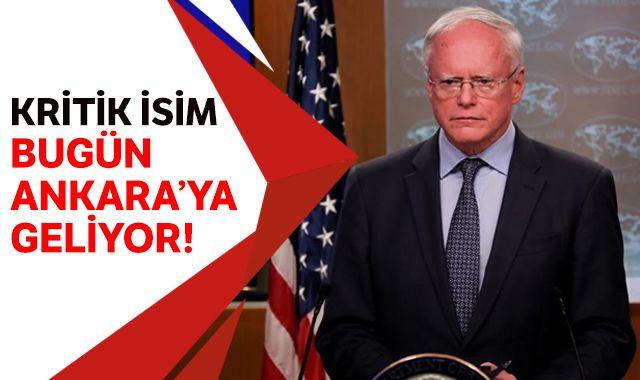 ABD'nin Suriye Özel Temsilcisi James Jeffrey bugün Ankara'ya geliyor