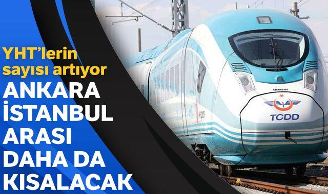 Ankara İstanbul arası daha da kısalacak