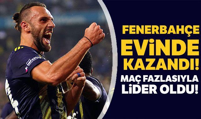Fenerbahçe evinde kazandı!