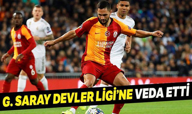 Galatasaray Devler Ligi'ne veda etti