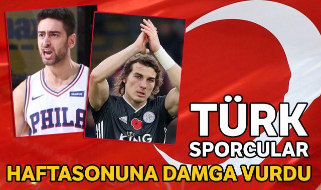 Türk sporcular, hafta sonuna damga vurdu