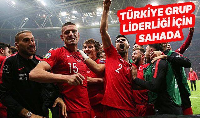Türkiye grup liderliği için sahada