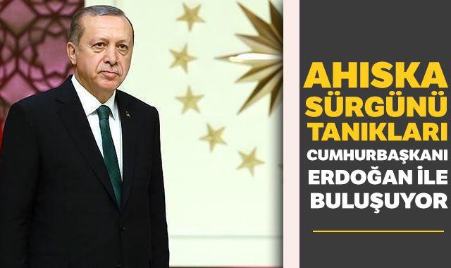 Ahıska Sürgünü tanıkları Cumhurbaşkanı Erdoğan ile buluşuyor