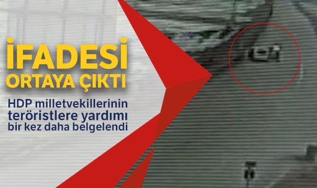 HDP milletvekillerinin teröristlere yardımı bir kez daha belgelendi