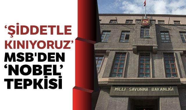 MSB'den 'Nobel' tepkisi