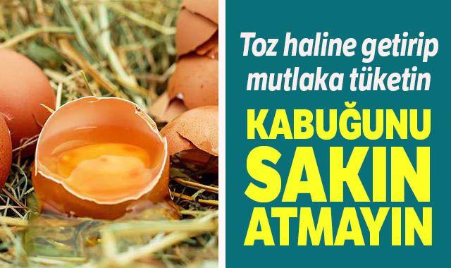 Yumurta kabuğunun faydaları saymakla bitmiyor