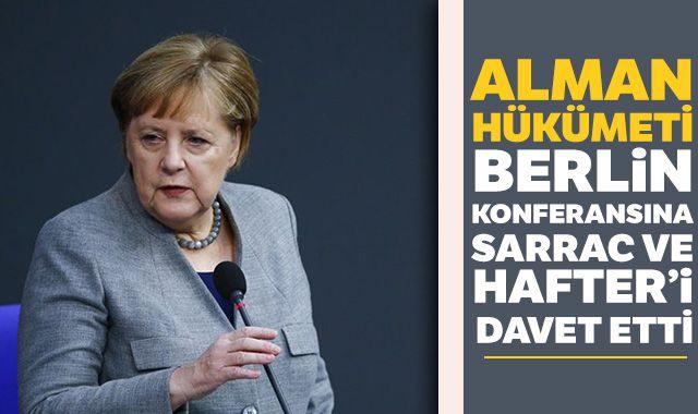 Almanya Başbakanı Angela Merkel'den Libya çağrısı