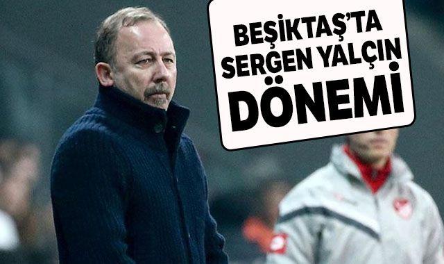 Beşiktaş Kulübü, teknik direktörlük için Sergen Yalçın ile anlaştı