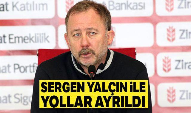 BtcTurk Yeni Malatyaspor'da Sergen Yalçın ile yollar ayrıldı
