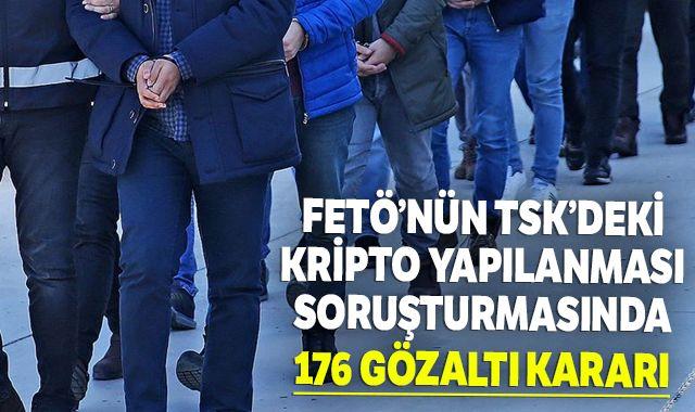 İzmir merkezli FETÖ operasyonunda 176 askere yakalama kararı çıkarıldı