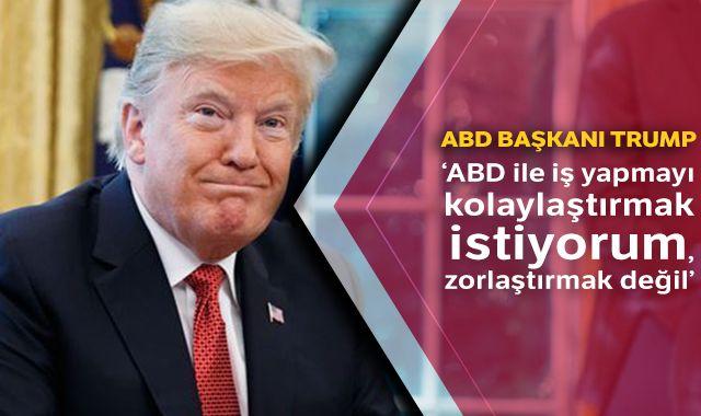 ABD Başkanı Trump'dan Çin'e ticaret çağrısı!