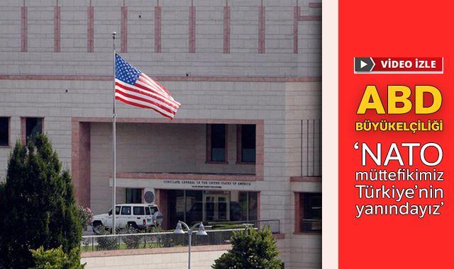 ABD Büyükelçiliğinden İdlib paylaşımı: NATO müttefikimiz Türkiye'nin yanındayız