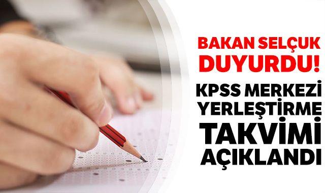 Bakan Selçuk; 'Lisans mezunları 5-20 Mayıs tarihlerinde KPSS başvurusu yapabilecek'