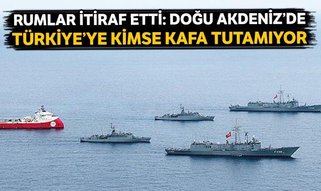 Rumlar itiraf etti: Doğu Akdeniz'de Türkiye'ye kimse kafa tutamıyor