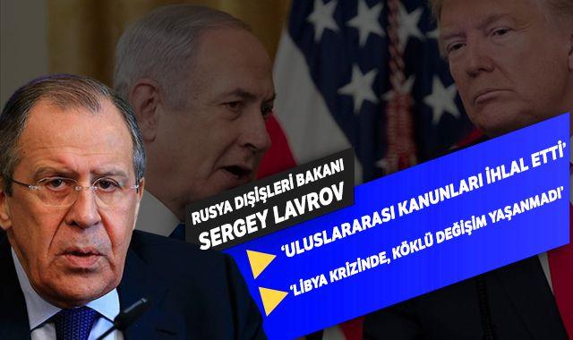 Rusya'dan ABD'nin sözde barış planına tepki!
