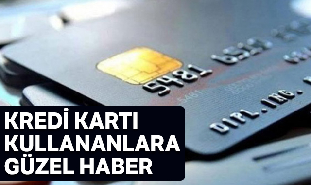 Kredi kartı faiz oranları düşürüldü