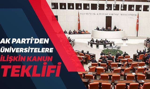 AK Parti'den üniversitelerin yaz dönemi için yasa teklifi
