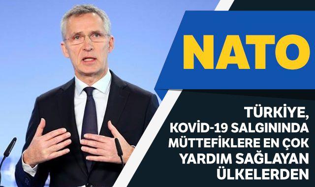 NATO: Türkiye, Kovid-19 salgınında müttefiklere çok yardım sağlayan ülkelerden