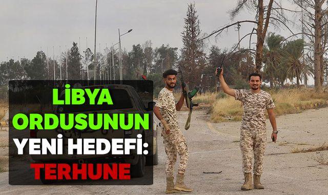Libya ordusunun yeni hedefi: Terhune