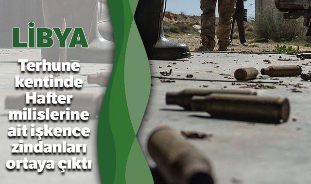 Hafter milislerine ait işkence zindanları ortaya çıktı