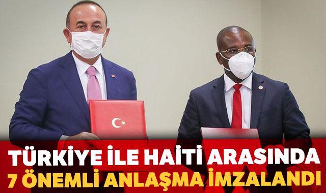 Bakan Çavuşoğlu: Türkiye ile Haiti arasında 7 önemli anlaşma imzalandı