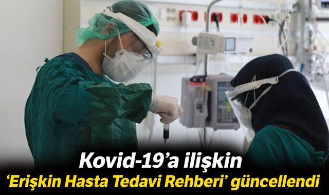 Kovid-19'a ilişkin 'Erişkin Hasta Tedavi Rehberi' güncellendi