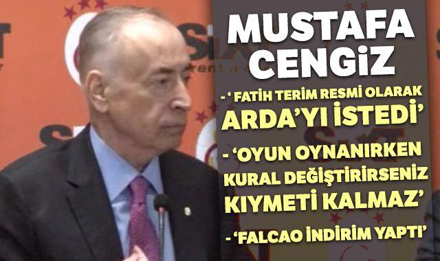 """Mustafa Cengiz: """"Oyun oynanırken kural değiştirirseniz, kıymeti kalmaz"""""""