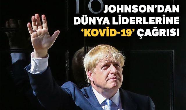 İngiltere Başbakanı Johnson'dan dünya liderlerine Kovid-19 çağrısı