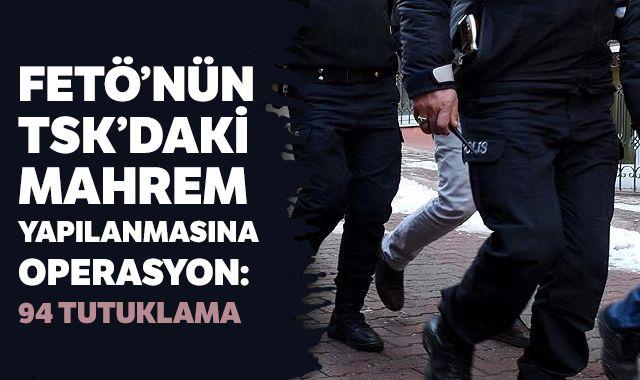 İstanbul merkezli 34 ilde FETÖ operasyonu