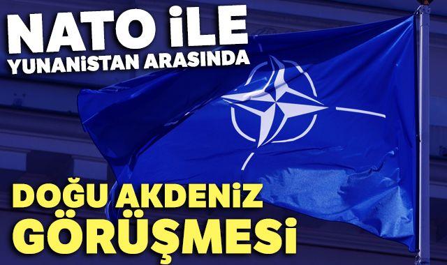 NATO ile Yunanistan arasında Doğu Akdeniz görüşmesi