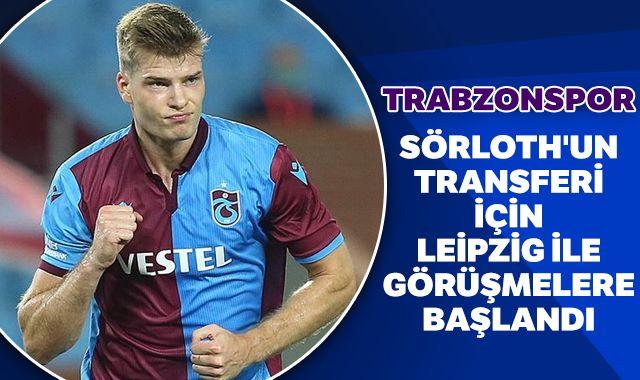 Sörloth'un transferi için Leipzig ile görüşmelere başlandı
