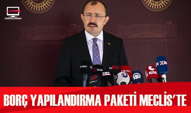 AK Parti Grup Başkanvekili Muş: Vergi yapılandırmasına 18 taksit imkanı getirilecek