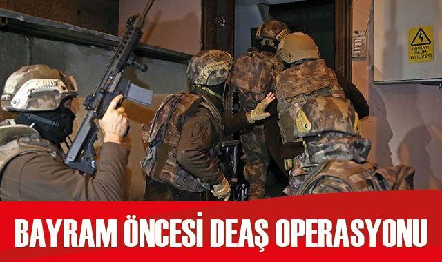 Ankara'da saldırı hazırlığındaki 7 DEAŞ'lı yakalandı