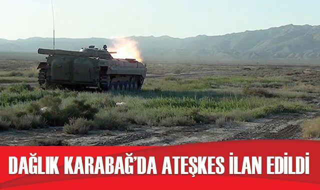 Azerbaycan-Ermenistan arasında ateşkes kararı