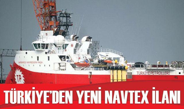 Barbaros Hayreddin Paşa gemisi için yeni NAVTEX