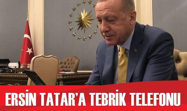 Cumhurbaşkanı Erdoğan, Tatar ile görüştü