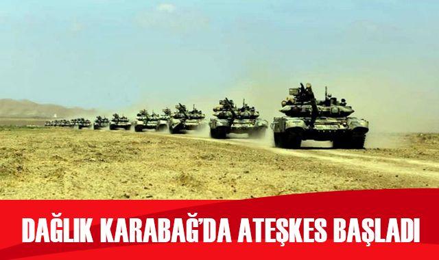 Dağlık Karabağ'da insani amaçlı ateşkes yürürlüğe girdi