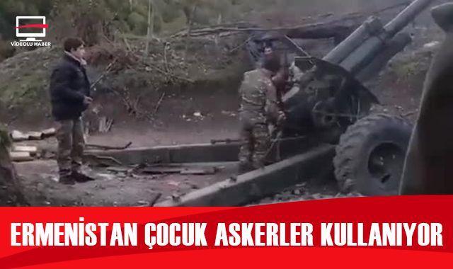 Ermenistan çocuk askerler kullanıyor