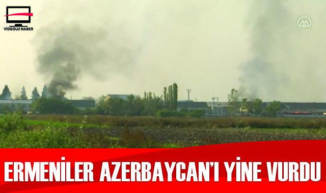 Ermenistan Terter'de fabrikayı vurdu