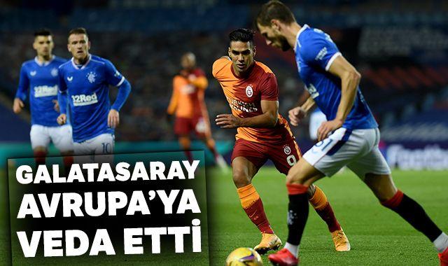 Galatasaray, UEFA Avrupa Ligi'ne veda etti