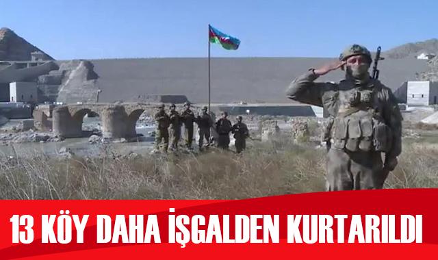 İlham Aliyev, Cebrayıl bölgesinde 13 köyünün işgalden kurtarıldığını açıkladı