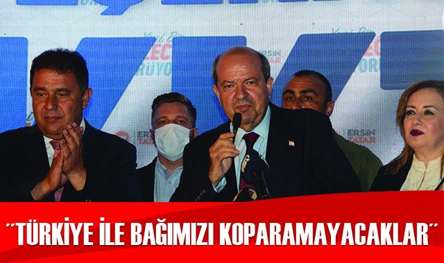 KKTC Cumhurbaşkanı Tatar: Türkiye ile bağımızı koparamayacaklar