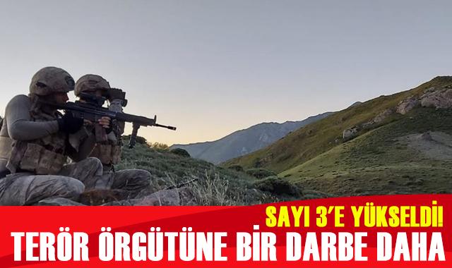 Şırnak'ta etkisiz hale getirilen PKK'lı terörist sayısı 3'e yükseldi