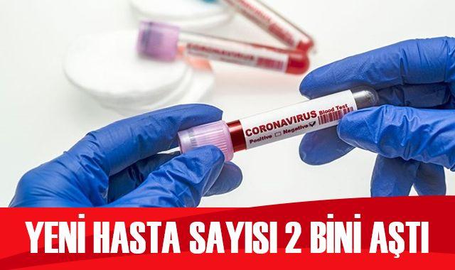 Türkiye'de koronavirüste son durum: 2013 yeni hasta, 68 can kaybı
