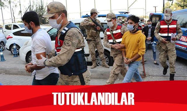 Yakalanan 4 PKK'lı terörist tutuklandı