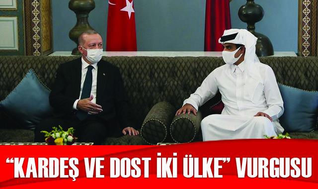 Ziyaretin Katar basınına yansıması: Kardeş ve dost iki ülke